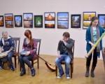 Открытие фотовыставки Юрия Бирюкова и Алины Кузьменко 6