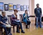 Открытие фотовыставки Юрия Бирюкова и Алины Кузьменко 7