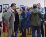 Открытие фотовыставки Юрия Бирюкова и Алины Кузьменко 22