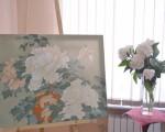 Выставка батика Ирины Суздальцевой 5
