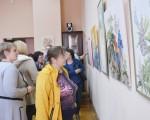 Выставка батика Ирины Суздальцевой 19