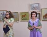Выставка художественной вышивки и акварели Анны Пугачевой «Под шелест трав…» 1