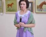 Выставка художественной вышивки и акварели Анны Пугачевой «Под шелест трав…» 5