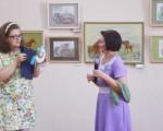 Выставка художественной вышивки и акварели Анны Пугачевой «Под шелест трав…» 10