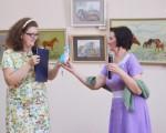 Выставка художественной вышивки и акварели Анны Пугачевой «Под шелест трав…» 11