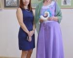 Выставка художественной вышивки и акварели Анны Пугачевой «Под шелест трав…» 25