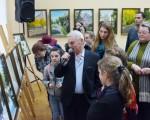Открытие выставки живописи Геннадия Шуремова «Город над Сожем» 39