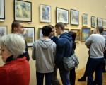 Выставка Игоря Хайкова «Прогулка» 1