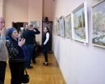 Выставка живописи Геннадия Тарских «Зимы застывшие мгновения» 14