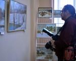 Выставка живописи Геннадия Тарских «Зимы застывшие мгновения» 17