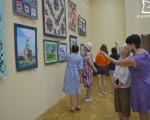 Выставка Галины Голубенко «Лоскут в интерьере» 11