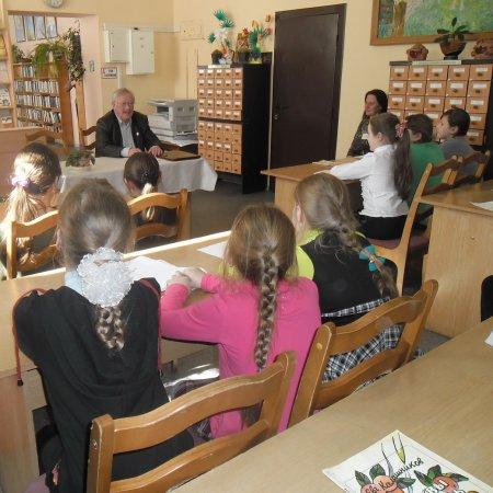 Встреча с писателем Евгением Калашниковым