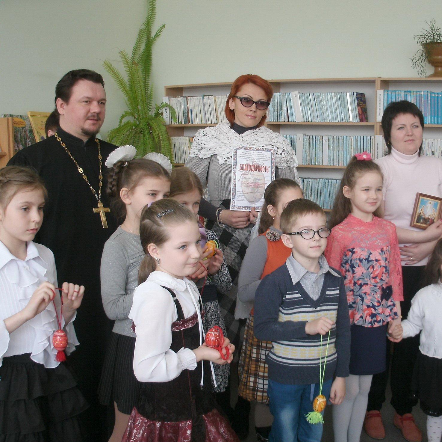 В библиотеке-филиале №1 им. И. Мележа подвели итоги конкурса «Пасхальная радость»