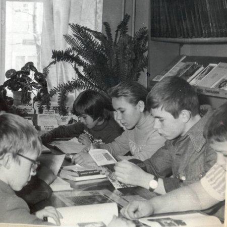 50 лет библиотеке-филиалу №11