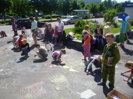Вот июньский первый день – день защиты всех детей
