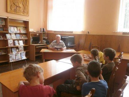 Каникулы с библиотекой-филиалом №16