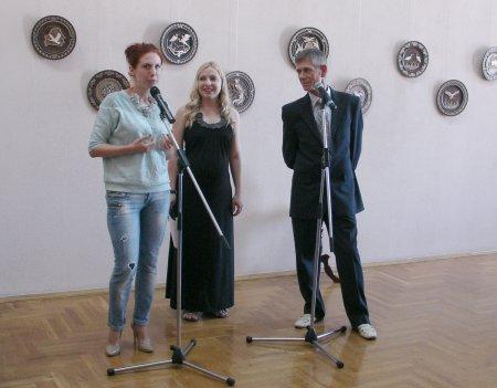 В Музее автографа открылась выставка работ Михаила Лизогуба «Моя Беларусь»