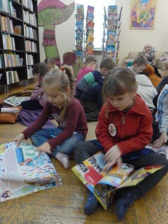 Чудеса в библиотеке