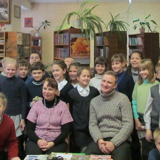 Встреча с гомельскими детскими писателями Татьяной Моисеевой и Андреем Матвеенко