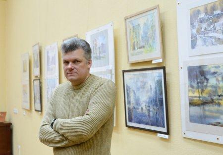 Мастер-класс художника Игоря Хайкова №2
