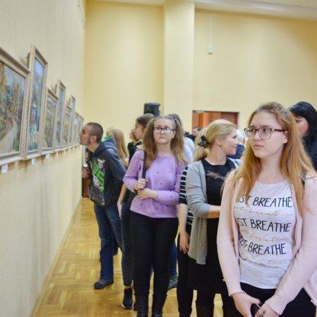Выставка живописи учащихся УО «Гомельский государственный художественный колледж»