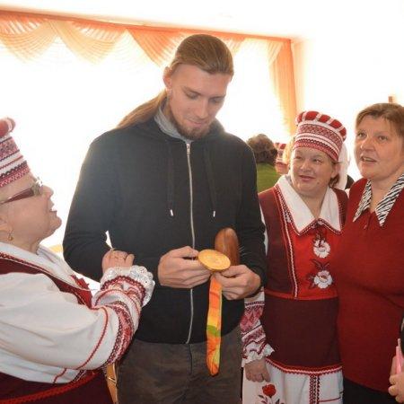 Встреча с пловцом Владимиром Изотовым
