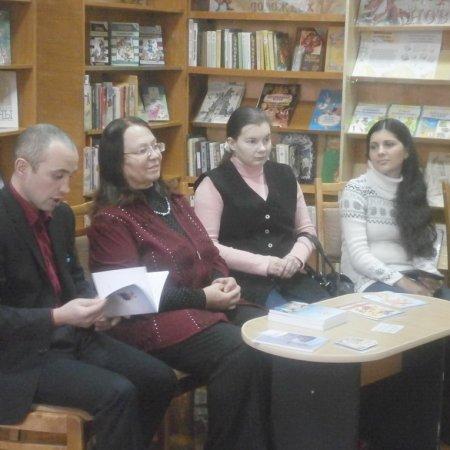Встреча с членами школы-студии «Молодой литератор»