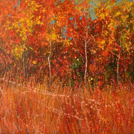 Открытие выставки живописи Натальи Чеботарёвой «Брызги света и тепла»