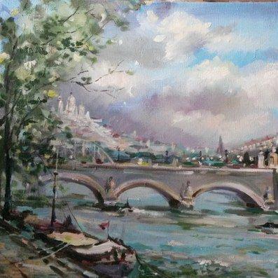 Выставка живописи и акварели Ольги Копачёвой «Энергия городов»