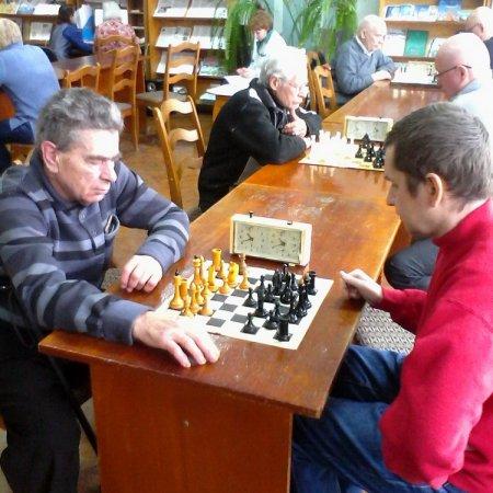Соревнования по шахматам в филиале №8