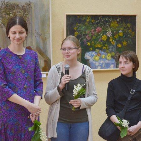 В центральной городской библиотеке открылась выставка «Art-шаги»