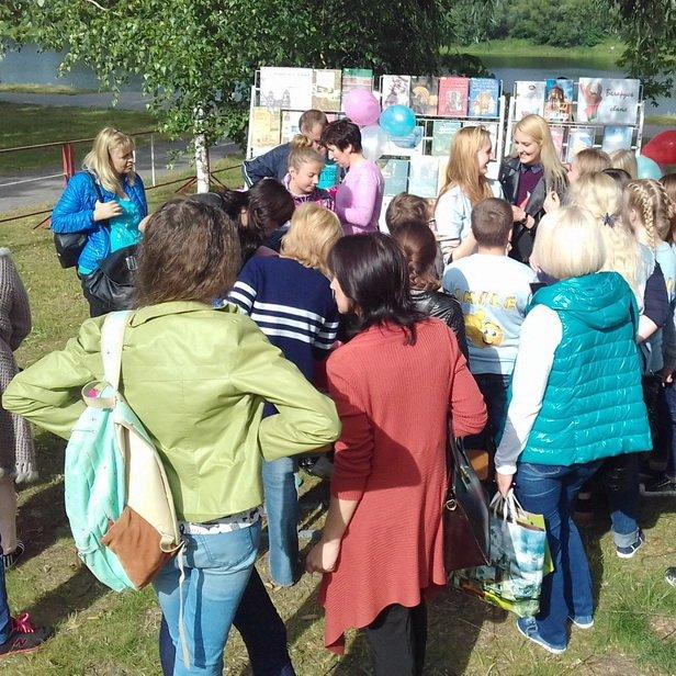 День Независимости Республики Беларусь на набережной Любенского озера