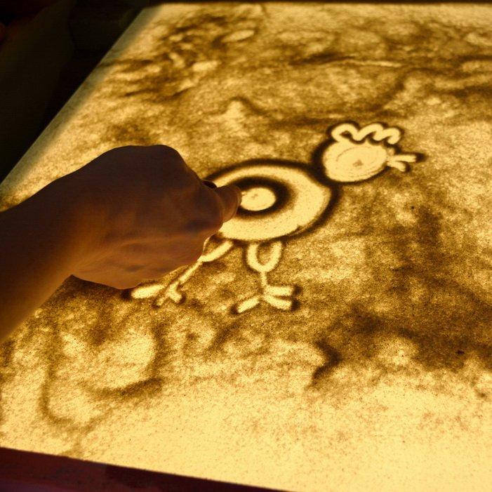 Приглашаем на занятия песочной анимацией