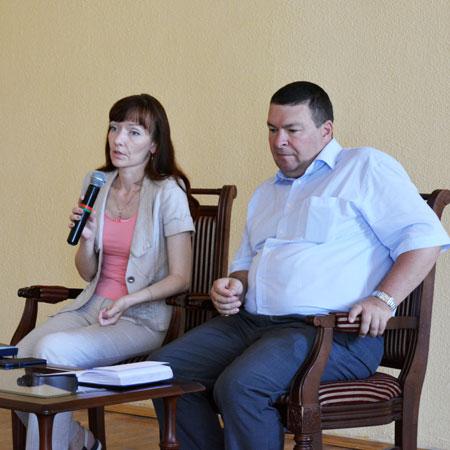 Встреча с представителями КДН