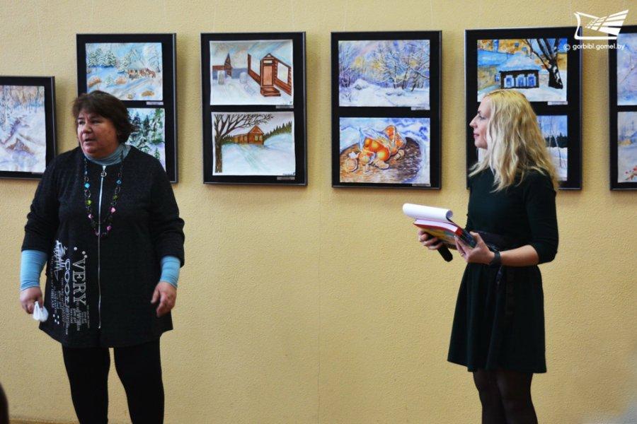 «Зимняя фантазия». Выставка акварельных работ