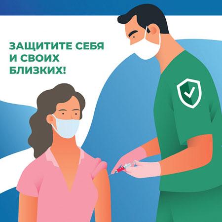 Вакцинация от вируса COVID-19