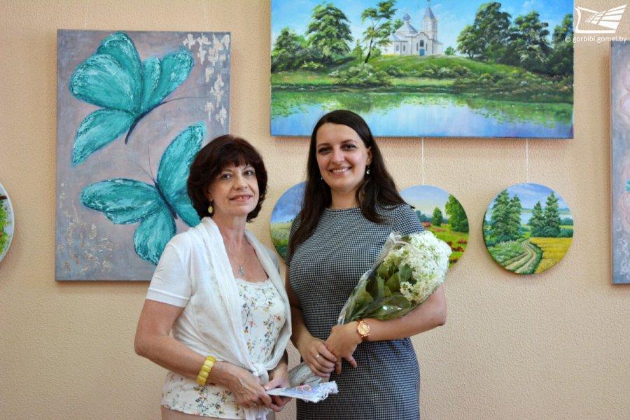 Юлия Жданович. Выставка живописи «Задержите мне сердце на вдохе»